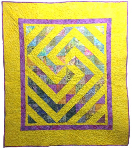 Crazy Charmer Quilt pattern