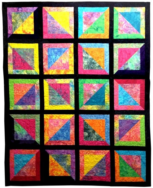 Easy Peasy Layer Cake Quilt Pattern