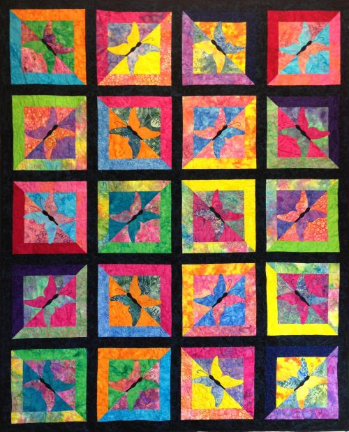 Flutter-by Quilt Pattern